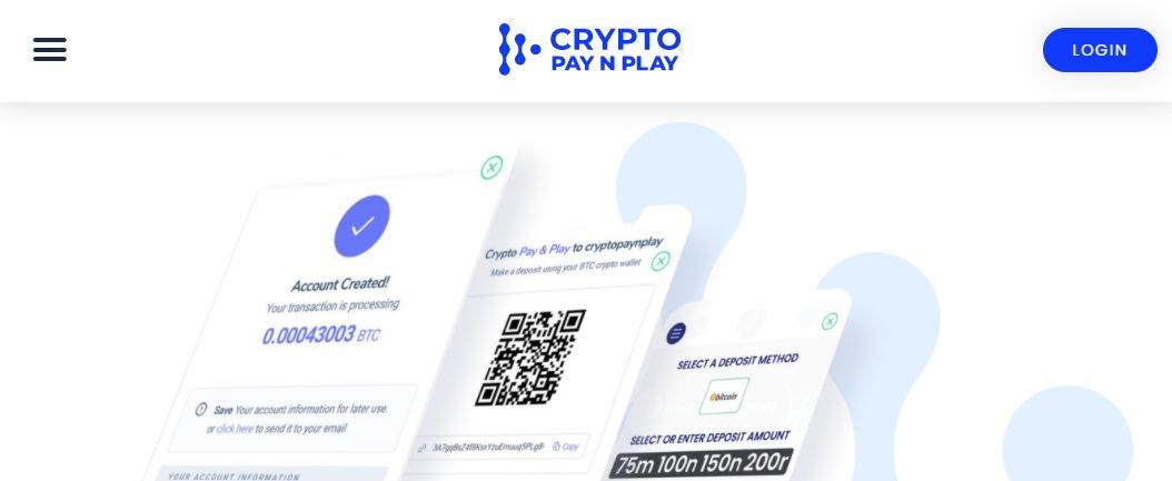 Crypto Pay N Play App