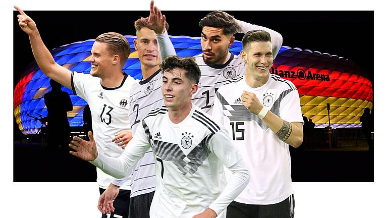 EM Spieler der Nationalmannschaft des DFB