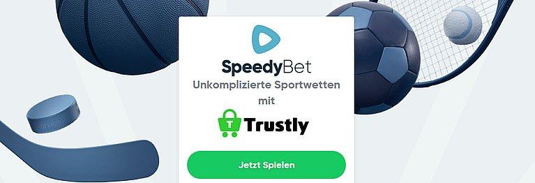 Speedybet Sportwetten mit Trustly