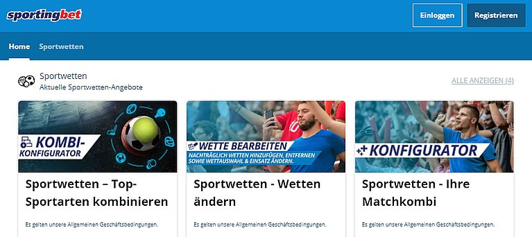 Sportingbet Bonus Sportwetten
