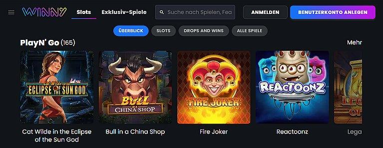Winny Spiele Slots