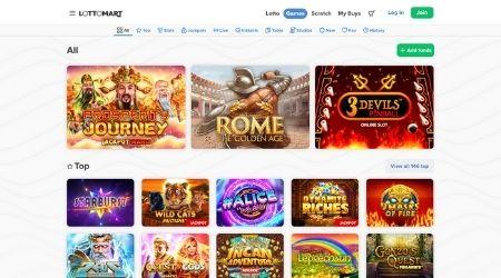 Lottomart casino home