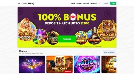 Lottomart casino promotions