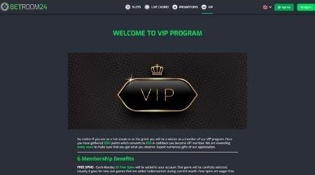 Betroom24 VIP program