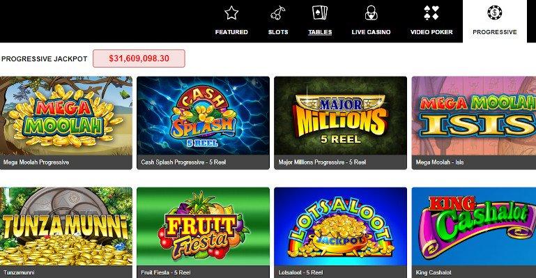 Royal Vegas Casino India Progressive Jackpot Games