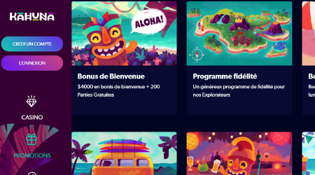 Kahuna casino promotions