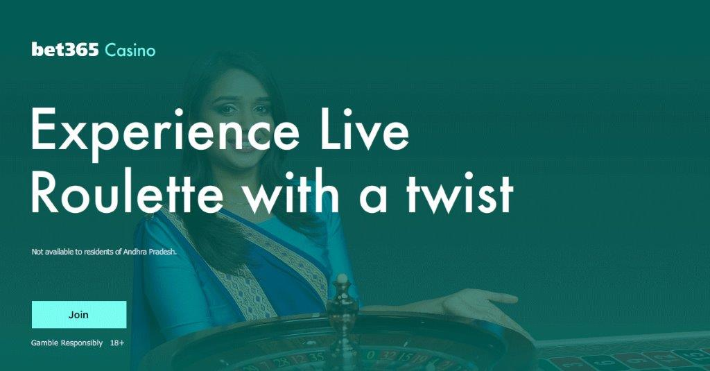 Roulette table woman with Bet365 bonus for new Roulette and Blackjack experiences