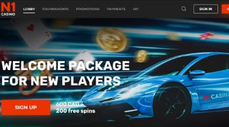 N1 Casino Welcome Bonus