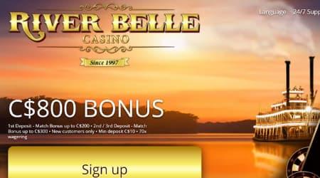 River Belle Welcome Bonus