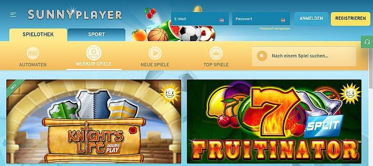 Sunnyplayer Slots Spiele
