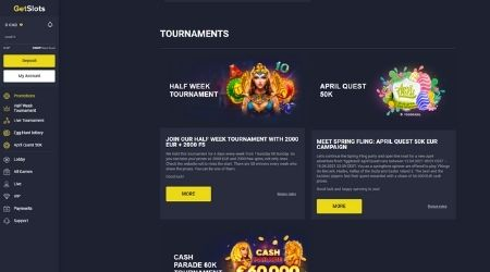 get slots casino promotions