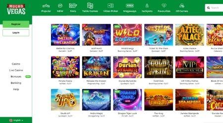 Mucho Vegas Casino Games