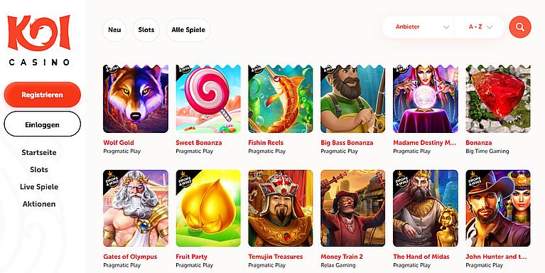 Koi Spielbank Slot Spiele
