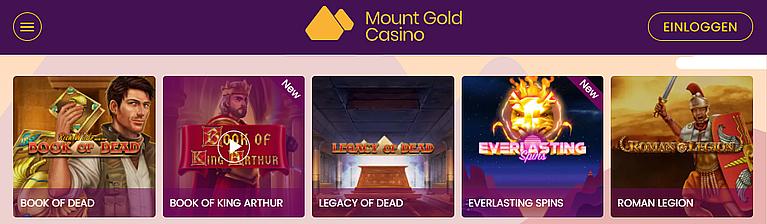 MountGold Slot Spiele