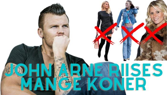 John Arne Riise er gift tre ganger og skilt tre ganger