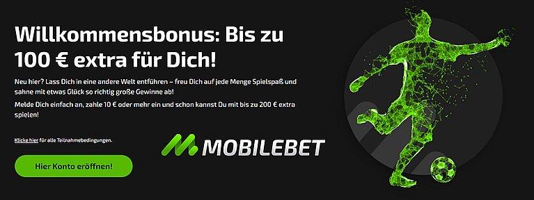 Mobilebet Sportwetten Bonus Code