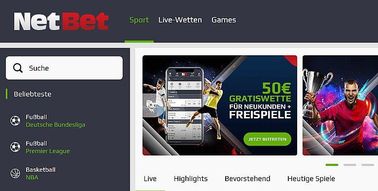 BetBet Sportwetten Quoten