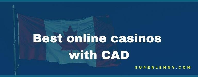 best online casinos with CAD