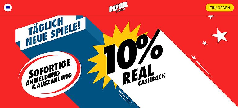 Refuel Bonus Cashback