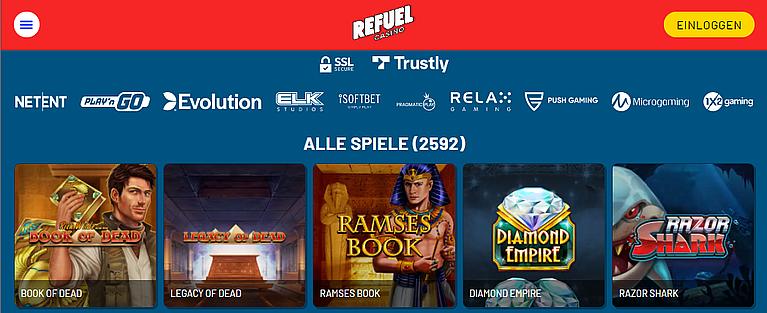 Refuel Slot Spiele