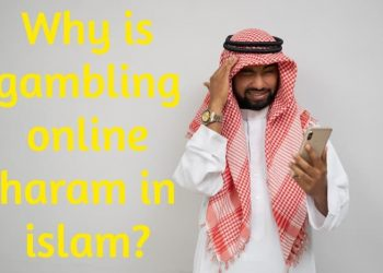 Why is gambling online haram in islam?