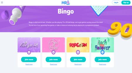 MrQ Casino Bingo