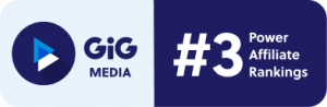 2021 年EGR影響力聯盟排名中GiG Media躍升3強