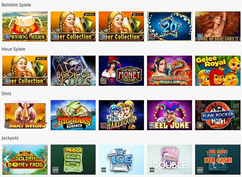 Qualität & Bewertung Casinospiele